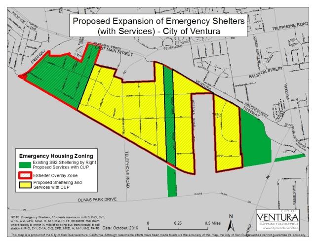 Emergency Shelters – Montalvo Community Council