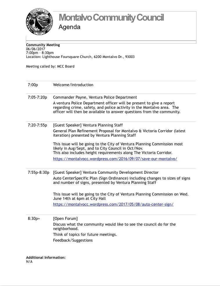 MCC Agenda 6-6-17