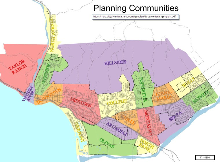 Ventura Planning Communities Map_Montalvo
