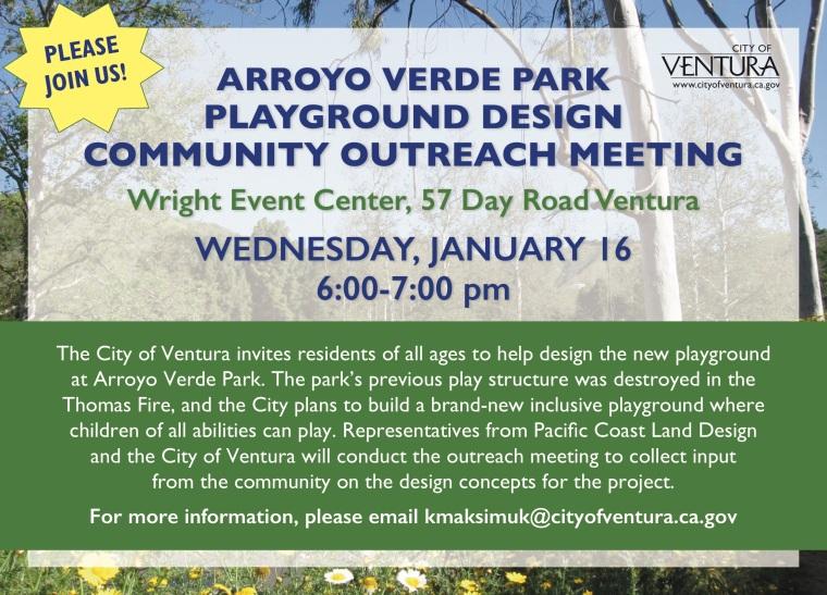 arroyo verde community meeting pdf